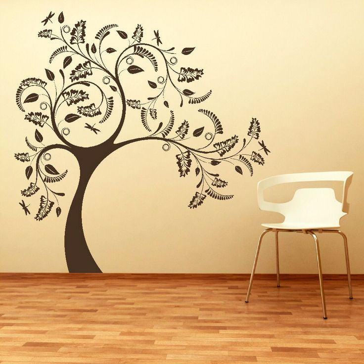 LARGE TREE GIANT Wall Sticker Huge Removable Vinyl Uk Decal Stencil Part 15