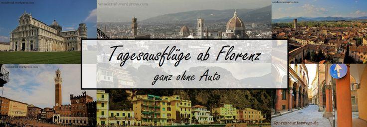 Florenz eignet sich sehr gut als Ausgangspunkt für Tagesausflüge mit den öffentlichen Verkehrsmitteln