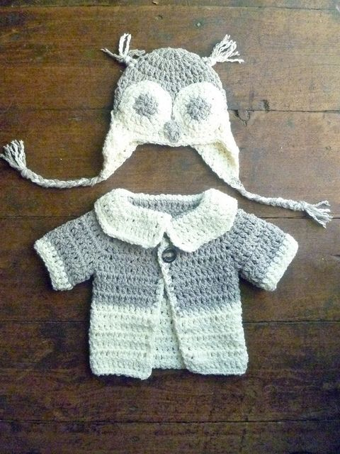 Too Hootie cute… links to patterns…i like the soft yarn & two-toned | How Do It Info