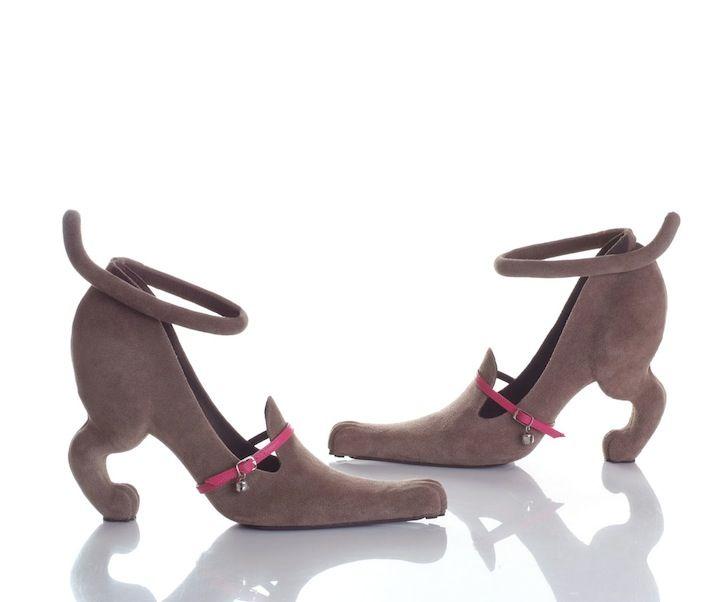Dog Shaped High Heels