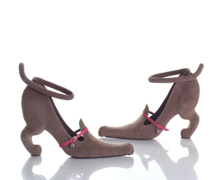 Dog Shaped High Heels