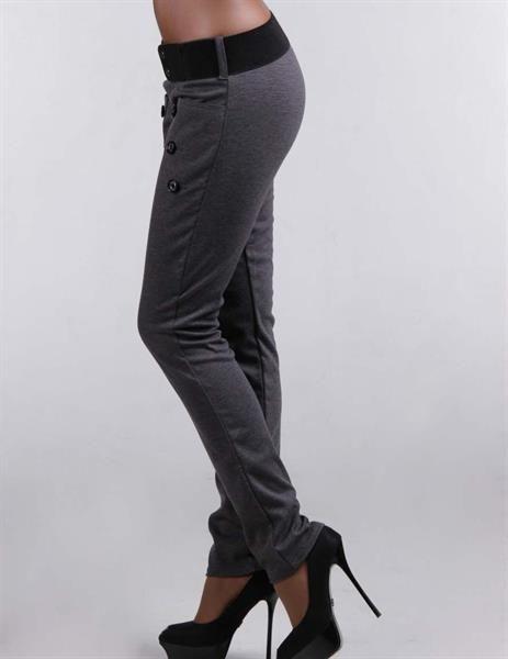 Стильные женские черные брюки