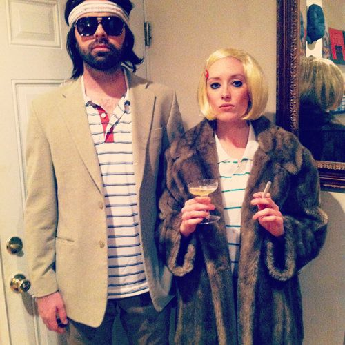 Halloween Couples Costume Ideas - Margot & Richie Tenenbaum