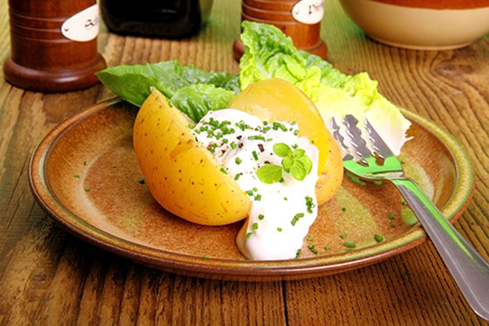 titulo receta Patatas Rellenas con Requesón