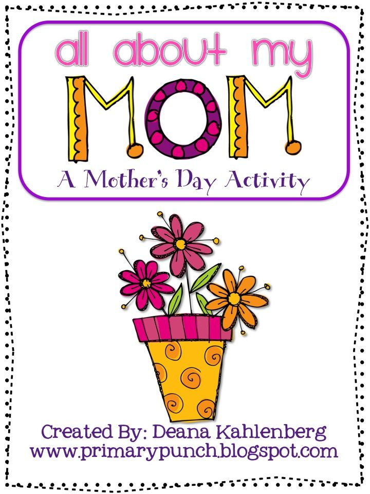 FREE Mother's Day Activity!