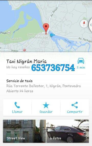 En #verano, #portanérica, en los #meses de #Julio y #Agosto, el #horario es de #24h. Tanto por la #noche como por el #día se puede contar con #Taxi #Nigrán #María para tus #desplazamientos: #653736754