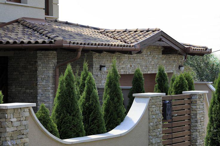 mediterrán tetőcserép www.mediterranepitohaz.hu
