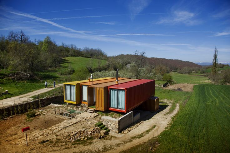 17 mejores ideas sobre casas de contenedores maritimos en - Arquitectura contenedores maritimos ...