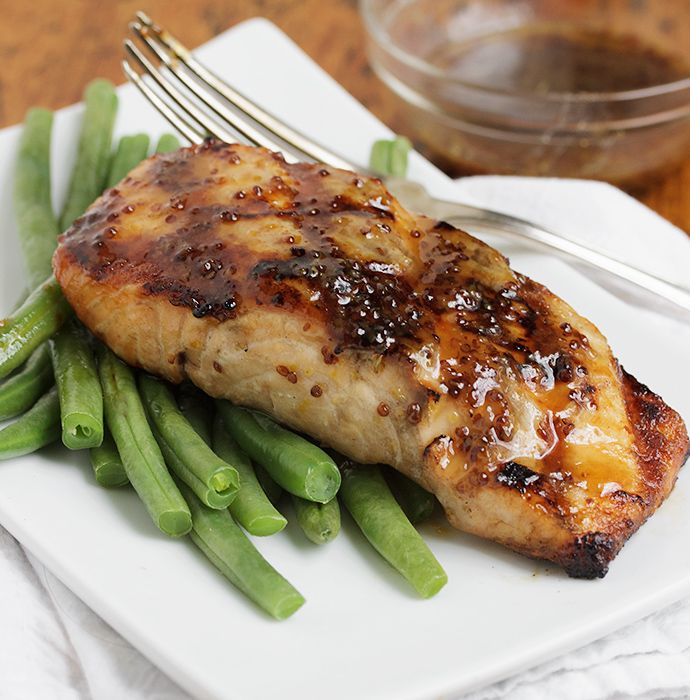Maple Mustard Grilled Salmon - a quick, easy and delicious way to ...