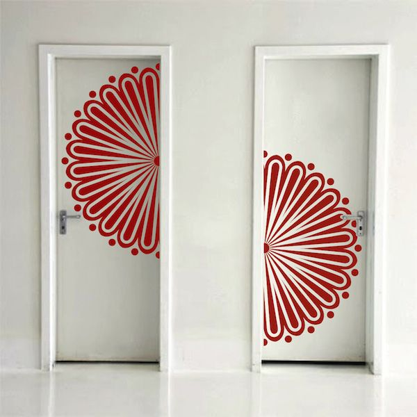 Trendy Design Wall Decals : Best images about trendy wall designs on