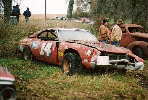 NASCAR Cars in Junk Yards - Bing images