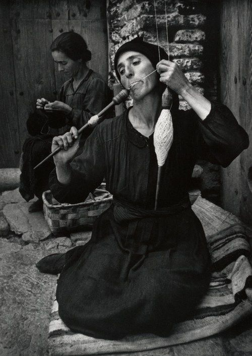 Spanish Spinner, 1950, by W. Eugene Smith