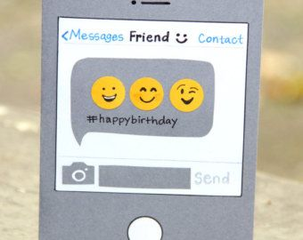 Birthday Text- Birthday Card