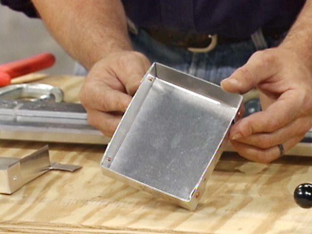 Making A Metal Box Metal Mailbox Metal Metal Box