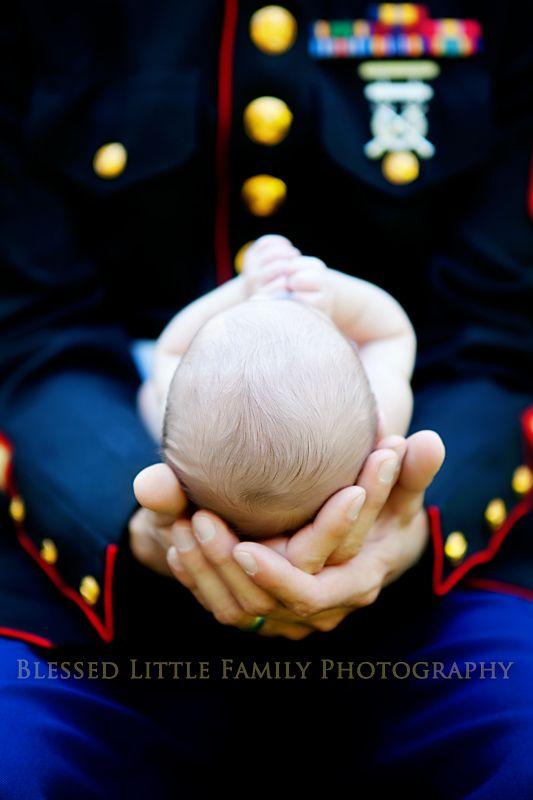 Priceless,  Newborn, Marine (No one can deny how amazing and touching this photograph is!)