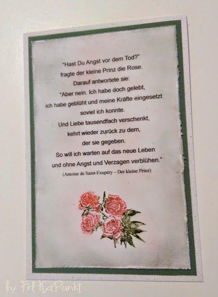 Gwenny´s Blog -  #trauer #trauerkarte #kondolenz #sympathy #withsympathy #karte