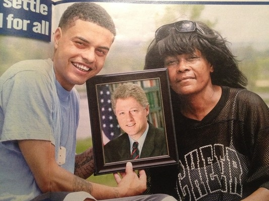 A 27-year-old man, Danney Lee Williams Jr from Arkansas is claiming he is Bill Clintons secret son. From Globe Magazine Bill Clinton has a secret son he fathered with a hooker – and the now  27-year-old young man is desperate to meet his biological dad. In a bombshell exclusive interview, Danney Le