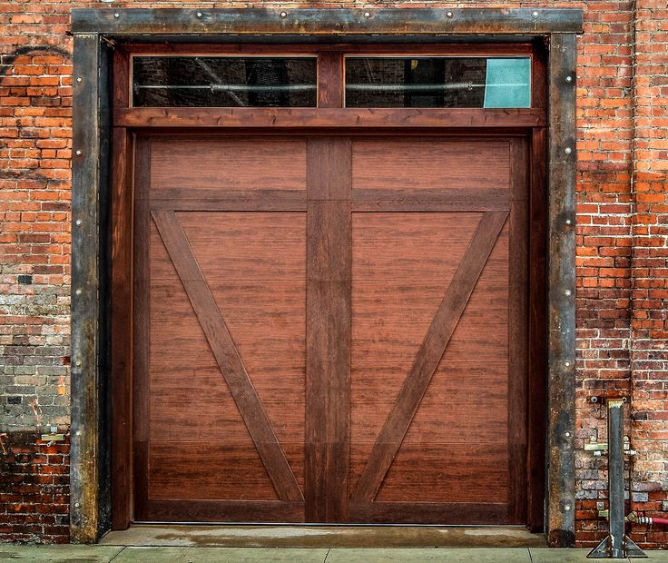 100 best faux wood garage doors images on pinterest wood for Faux wood doors