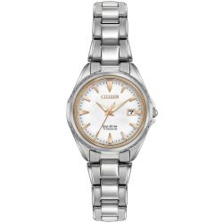 Citizen Eco-Drive Ladies' Super Titanium Watch With Sapphire Crystal Ew2410-54A