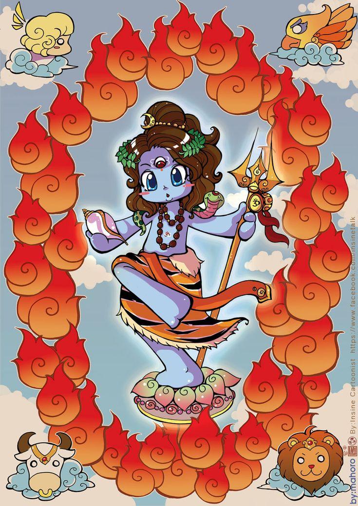 Shiva the World by In-Sine on deviantART