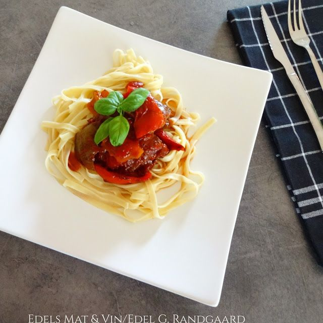 Edels Mat & Vin: Crock-Pot Italiensk Biffgryte ✿