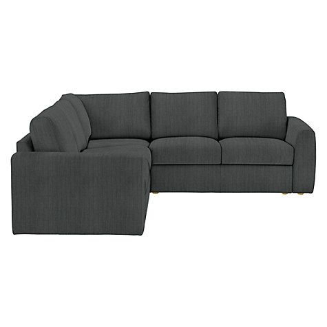 Buy House by John Lewis Finlay II LHF / RHF Small Corner Chaise Sofa, Light Leg, Porto Charcoal Online at johnlewis.com
