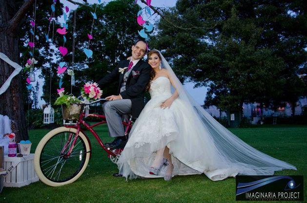 Bodas con sello propio!!! ¿Que tal la bici?