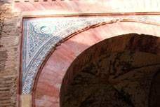 Restauración de la fachada de la puerta del vino