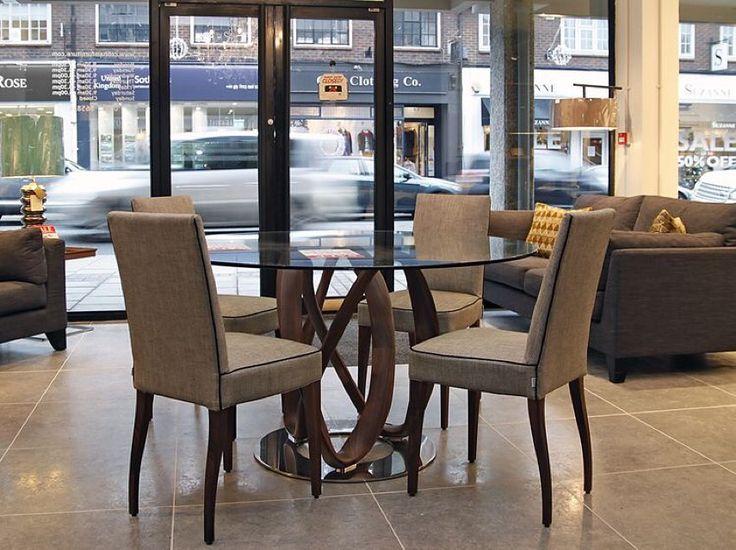 Infinity Dining Table #porada #craft #luxury #madeinitaly #juyancasa #築硯