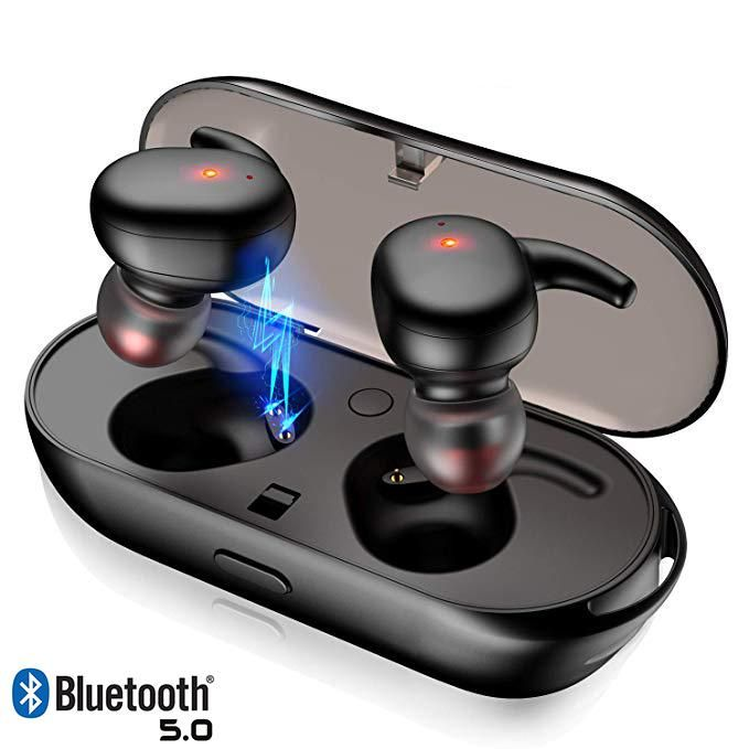 True Wireless Bluetooth 5 0 Waterproof Earbuds Gazechimp Wireless Headphones Bluetooth Wireless Earphones Wireless Headset