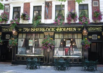 A little touristy? Yes, but who doesn't like Sherlock Holmes. It's located on the Strand between Trafalgar Square and the Embankment Tube stop. Grab a cheeky drink or two...