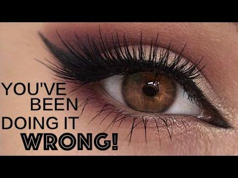 False lashes under your lashes This is THE best way to apply false eyelashes ever. Check out this super natural  no visible glue or band!…