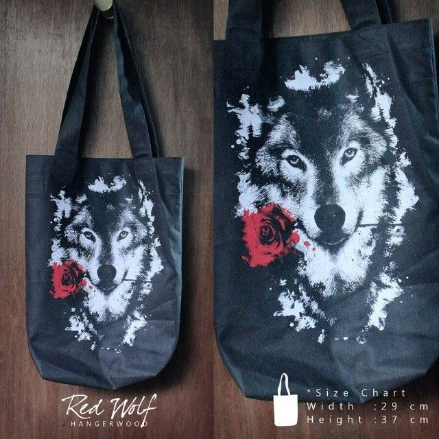 Hangerwood Bag Red Wolf