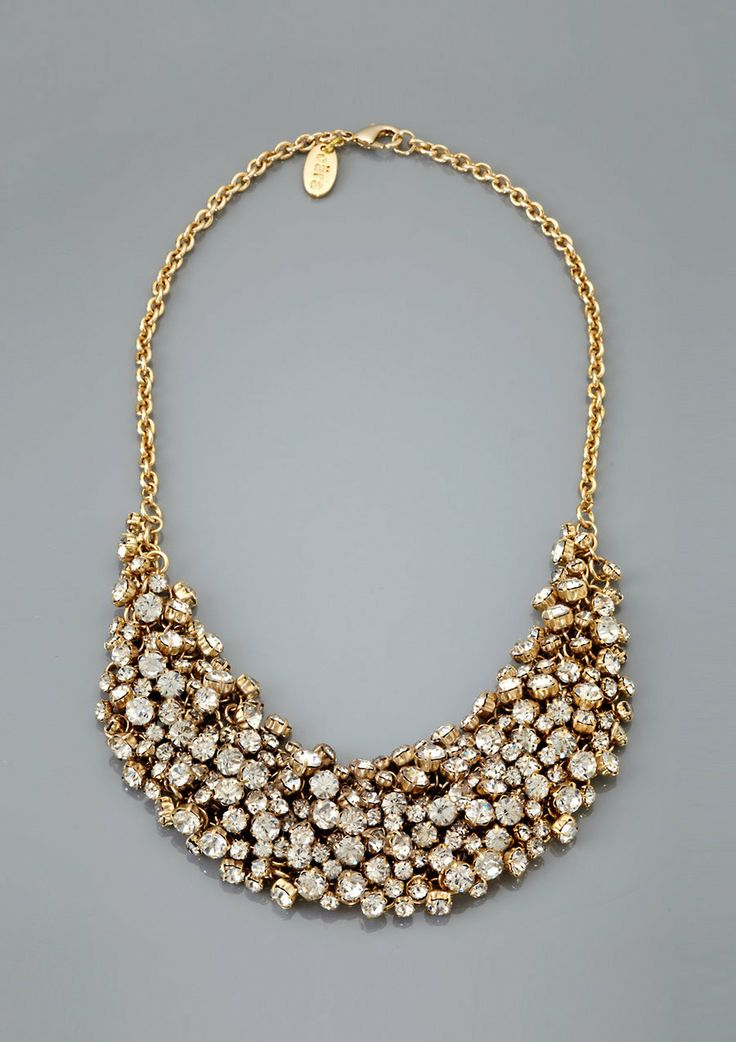 ideeli | CARA COUTURE Crystal Bib Necklace