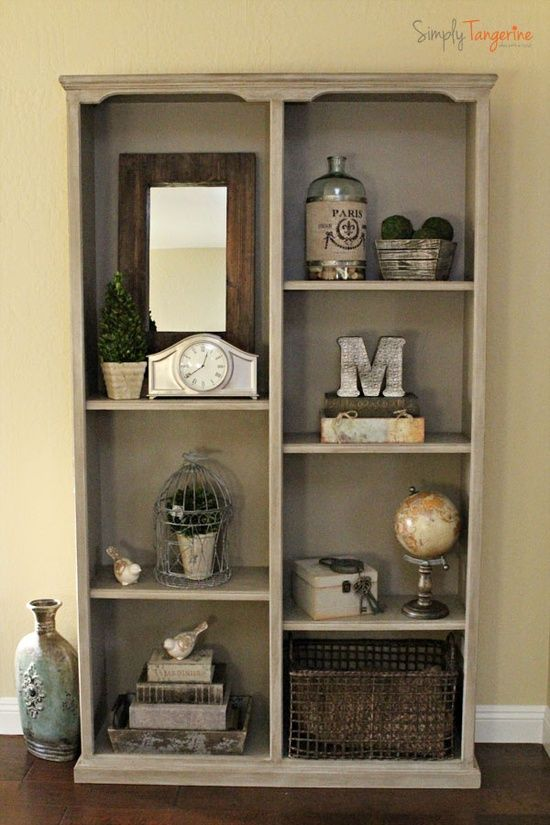 The Tale Of A Bookcase Transformed (How. Bookcase DecoratingBookshelf ...