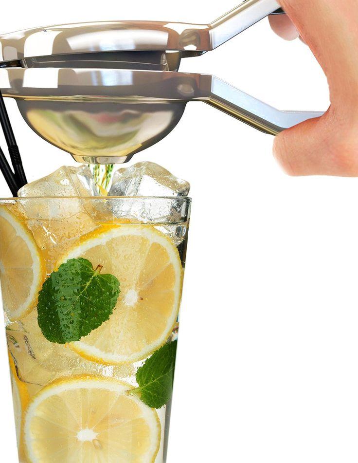 Professional Citrus Juicer Hand Held Fruit Press and Lemon Squeezer