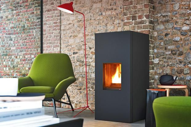 27 besten pellet fen bilder auf pinterest kaminofen innendesign und kamine. Black Bedroom Furniture Sets. Home Design Ideas