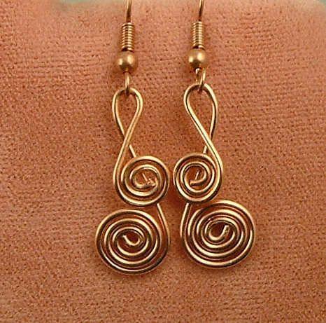 25+ best ideas about Wire jewelry earrings on Pinterest   Wire ...