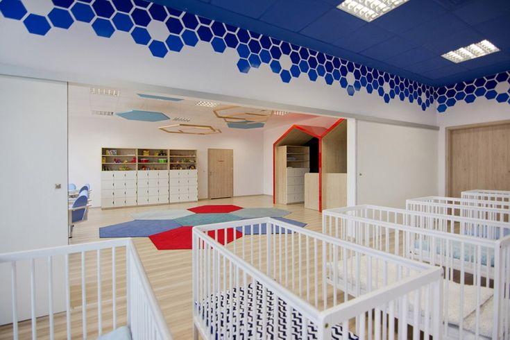 Przedszkole Mega Mocni - Aranżacje hoteli, restauracji, biur - Sztuka Wnętrza