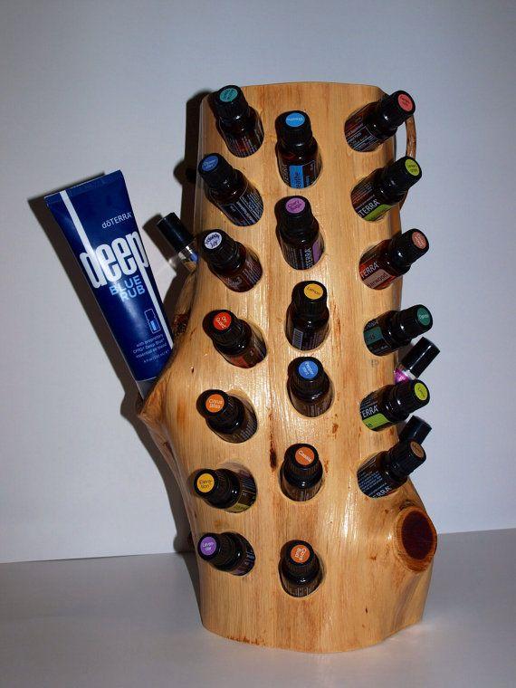 45 Best Wooden Essential Oil Holder Display Rack Images On
