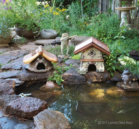 Toad house bungalows and house on pinterest Make your own toad house