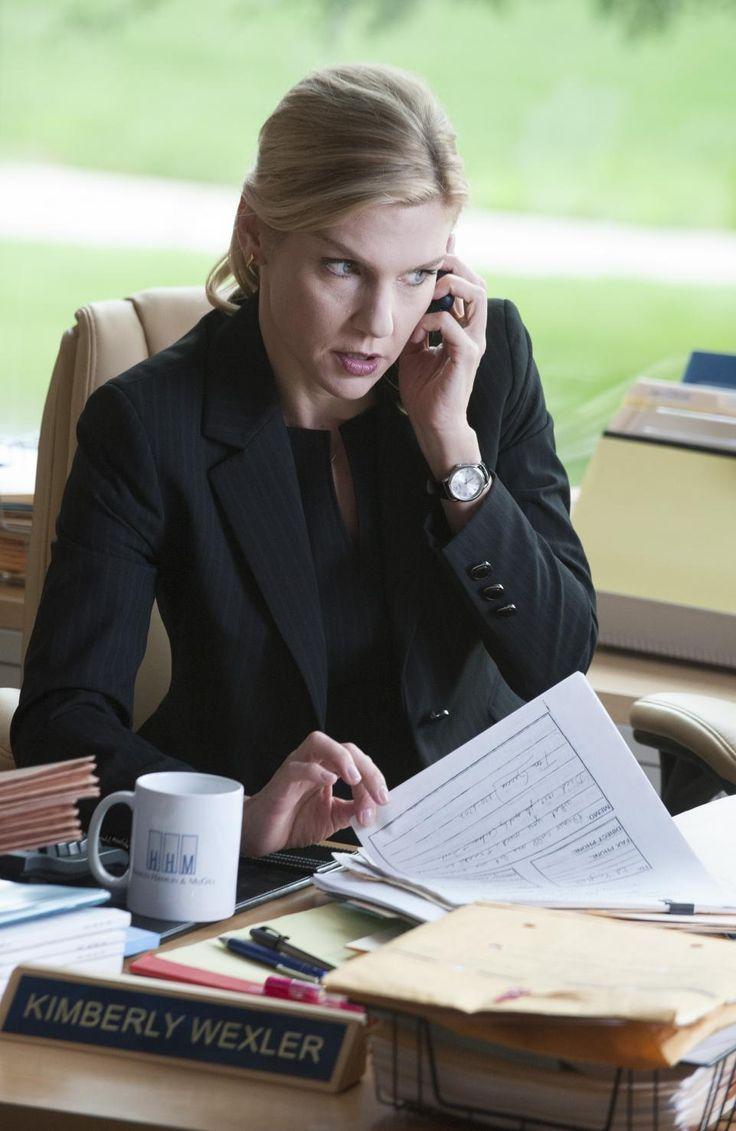 """Rhea Seehorn as Kim Wexler on """"Better Call Saul"""""""""""