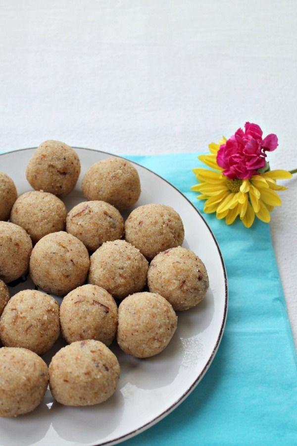 Semolina Balls (Suji Laddoos) using Coconut Oil!#sundaysupper  @sonisfood