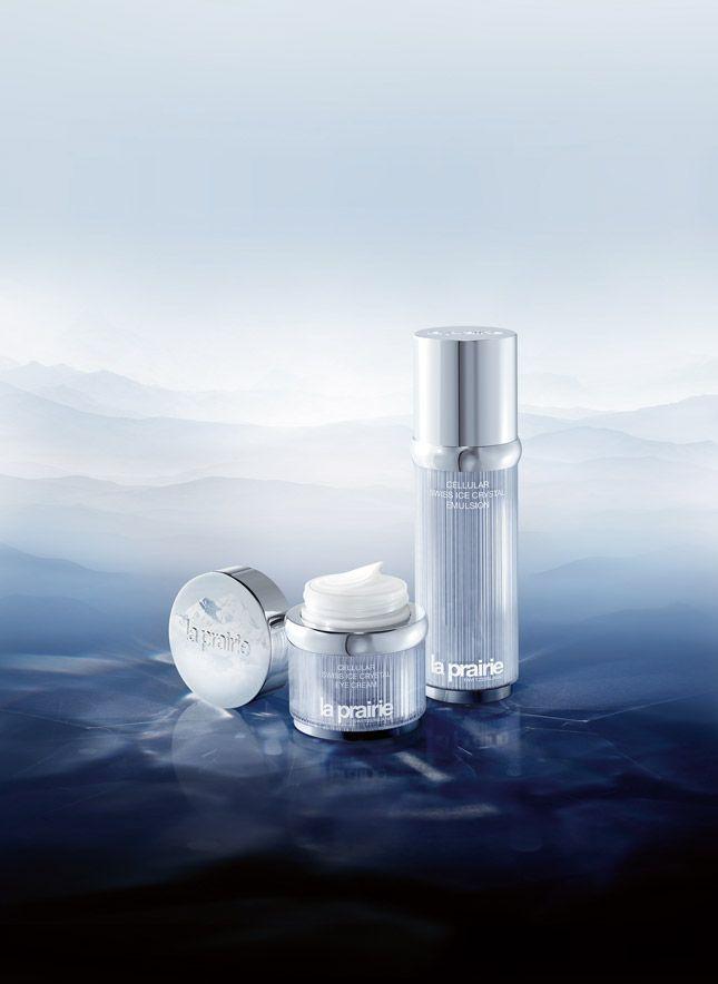 Fuer luxurioese Augenaufschlaege: Cellular Ice Crystal Emulsion und Eye Cream von La Prairie