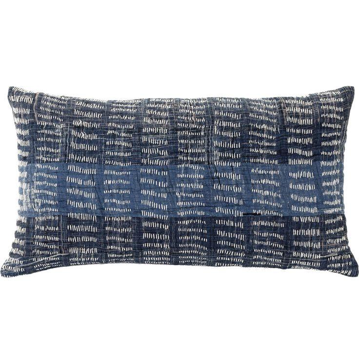 Lisbon Indigo Cushion