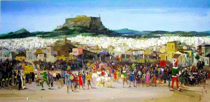 "hellas-inhabitants: ""Spyros Vassiliou Carnival in Athens 1934. Σπύρος Βασιλείου,Καρναβάλι στην Αθήνα 1934. """