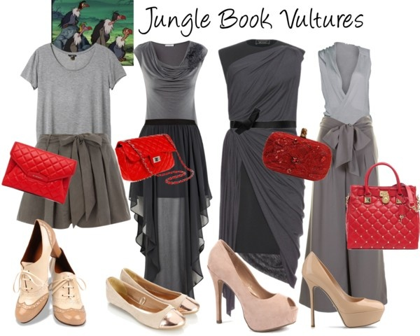 """""""Jungle Book Vultures"""" by jess-d90 ❤ liked on Polyvore"""