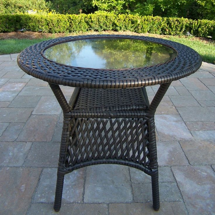 Shop Oakland Living  90048-T-CF Elite Resin Wicker Outdoor Coffee Table at ATG Stores. Browse our outdoor coffee tables, all with free shipping and best price guaranteed.