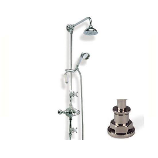 Barber Wilson Gcds Cd Thermo Shower Wh Spray In Brushed Nickel Plumbing Fixturesbarbersbrushed
