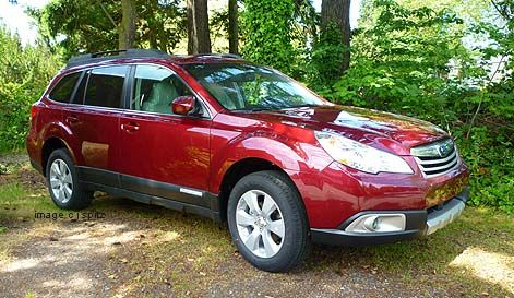 I want a Subaru Outback like this! Or a Forester. I haven't quite decided. But I love the red color.